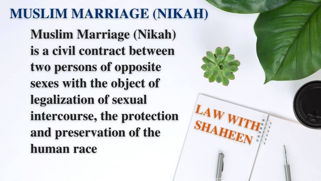 Muslim marriage nikah essentials kinds muta