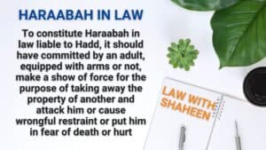 haraabah-definition-in-law