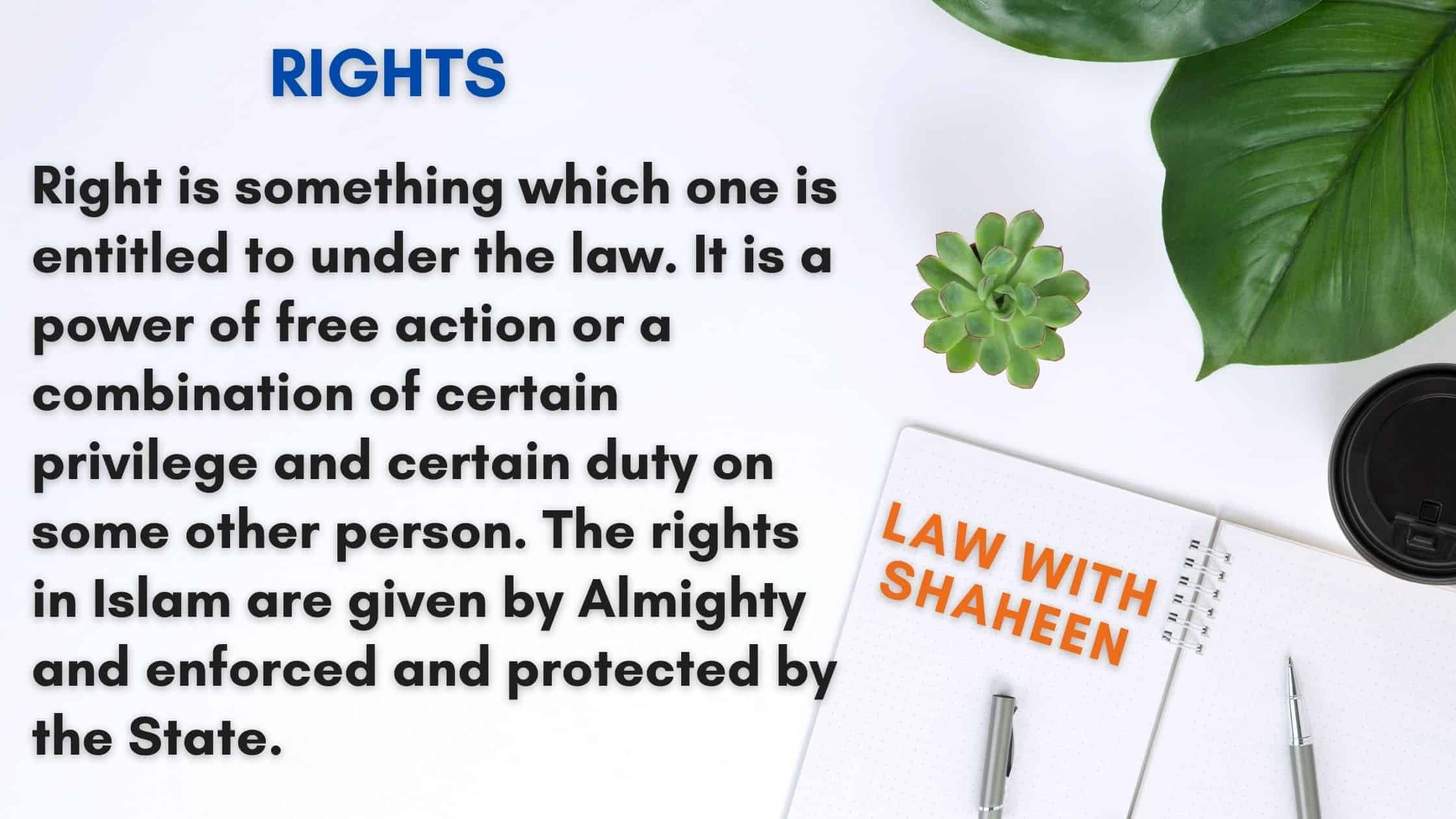 rights-and-classification-of-rights